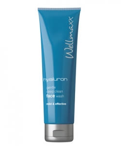 "Wellmaxx Hyaluron Gesichtsreinigungs-Creme ""Face Wash"" 150 ml."