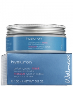 Wellmaxx Hyaluron Perfect Hydration Maske 150 ml.