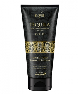 Art of Sun Tequila Gold Supreme Deep Tanning Lotion mit Melanin Solariumkosmetik 200 ml
