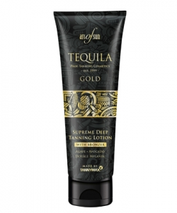 Art of Sun Tequila Gold Supreme Deep Tanning Lotion mit Bronzer und Melanin 125 ml