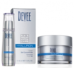Devee Hyaluron Super Gel 30 ml + Hyaluron 24h Moisture Creme Concentrate 50 ml - Sparset
