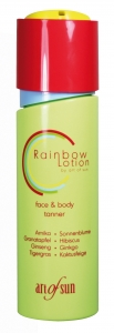 Art of Sun RAINBOW Face & Body Tanner Lotion 200 ml
