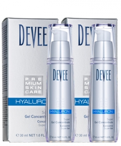 Devee Hyaluron Gel Superkonzentrat 2 X 30 ml Doppelpack