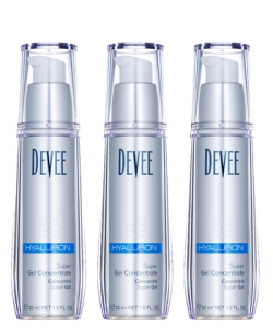 3 X 30 ml Devee Hyaluron Gel Super Concentrate im Sparpack